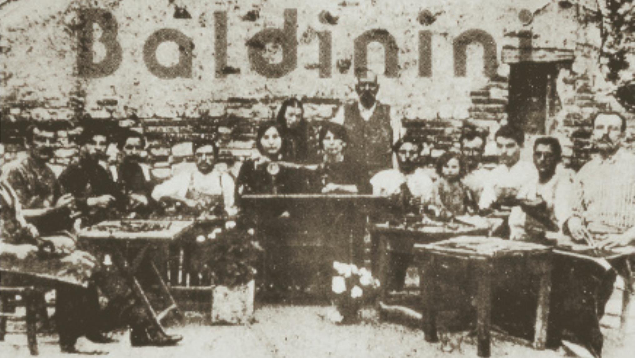 aziende calzature baldinini nel 1910