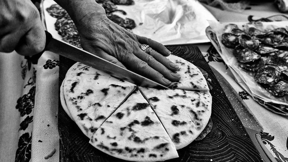 Piadina romagnola tradizione