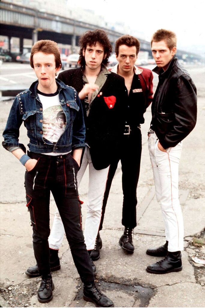 combat boots band The Clash