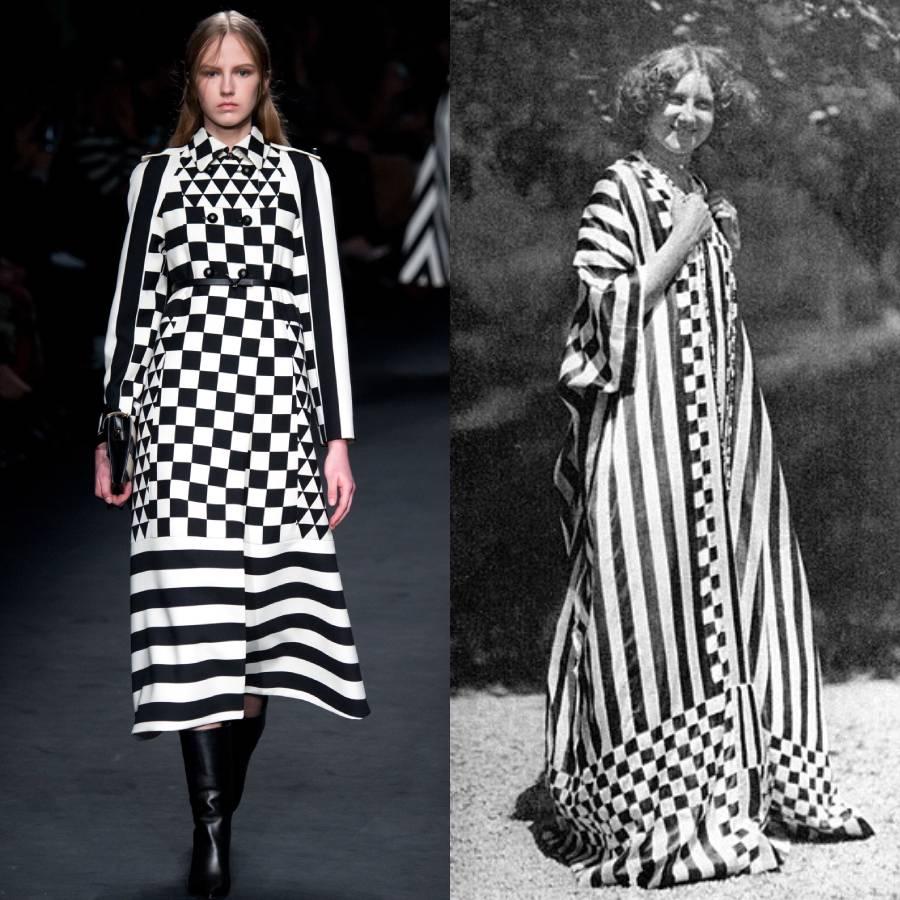 Abito Valentino ispirato a Emilie Flöge, musa di Klimt
