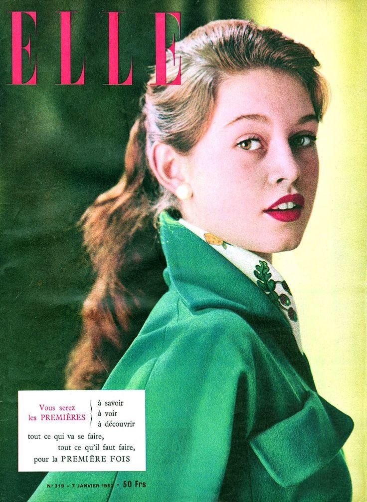 Brigitte Bardot copertina Elle 1952