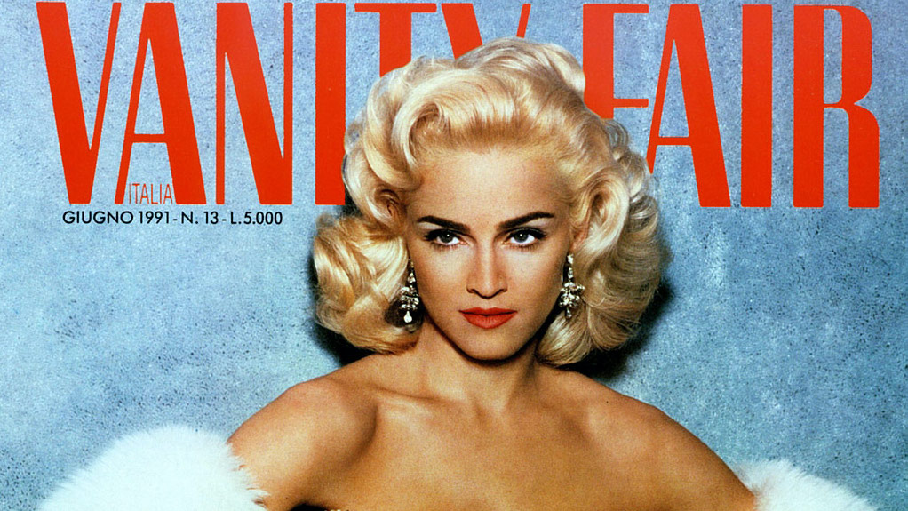Madonna sulla copertina di Vanity Fair