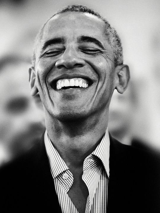 Barack Obama fotografato Giovanni Gastel