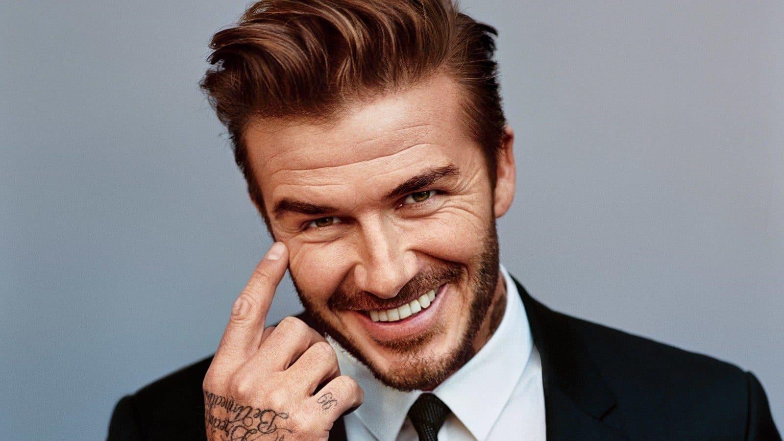 David Beckham fashion icon